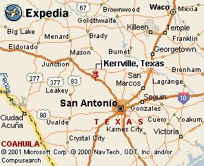 Kerr County Texas Map Map